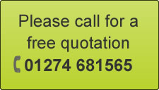 free quotation, call 01274681565